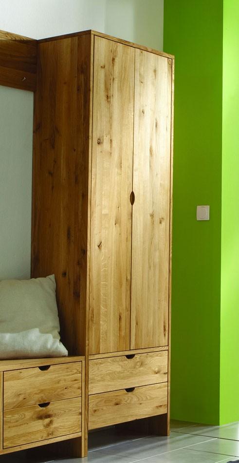 massivholz garderoben set flurm bel dielenm bel wildeiche massiv ge lt. Black Bedroom Furniture Sets. Home Design Ideas