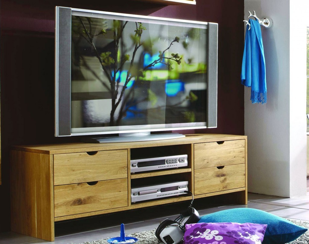massivholz wohnwand tv m bel anbauwand wildeiche ge lt. Black Bedroom Furniture Sets. Home Design Ideas