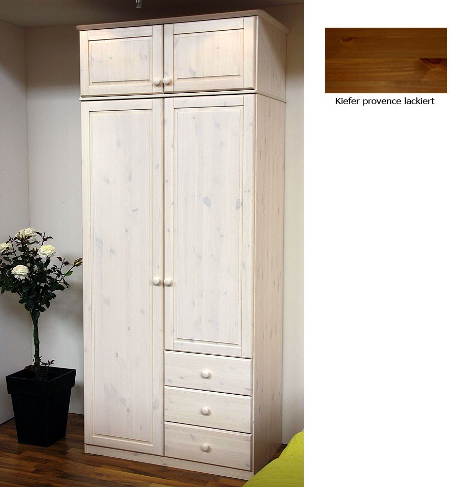 Büromöbel Schrank Ikea U003e Massivholz Kleiderschrank 2türig Mit Aufsatz Kiefer