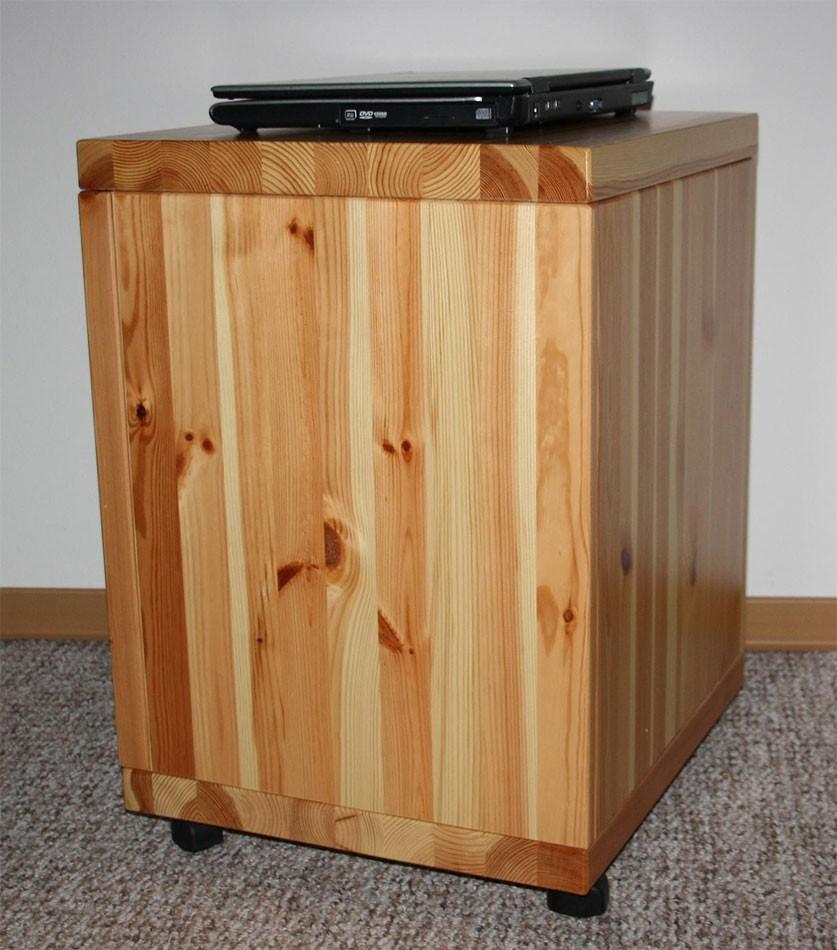Schreibtisch holz natur neuesten design for Schreibtisch vollholz