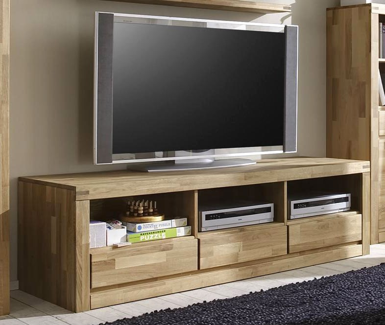 tv lowboard massiv wildeiche pictures to pin on pinterest. Black Bedroom Furniture Sets. Home Design Ideas