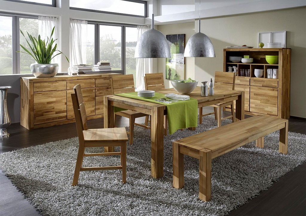 esszimmer aus holz. Black Bedroom Furniture Sets. Home Design Ideas