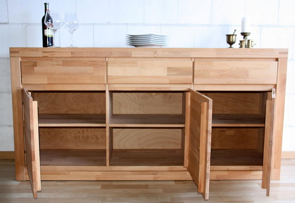 11 Sideboard Kommode Kernbuche Massiv Aus Holz Pictures To Pin
