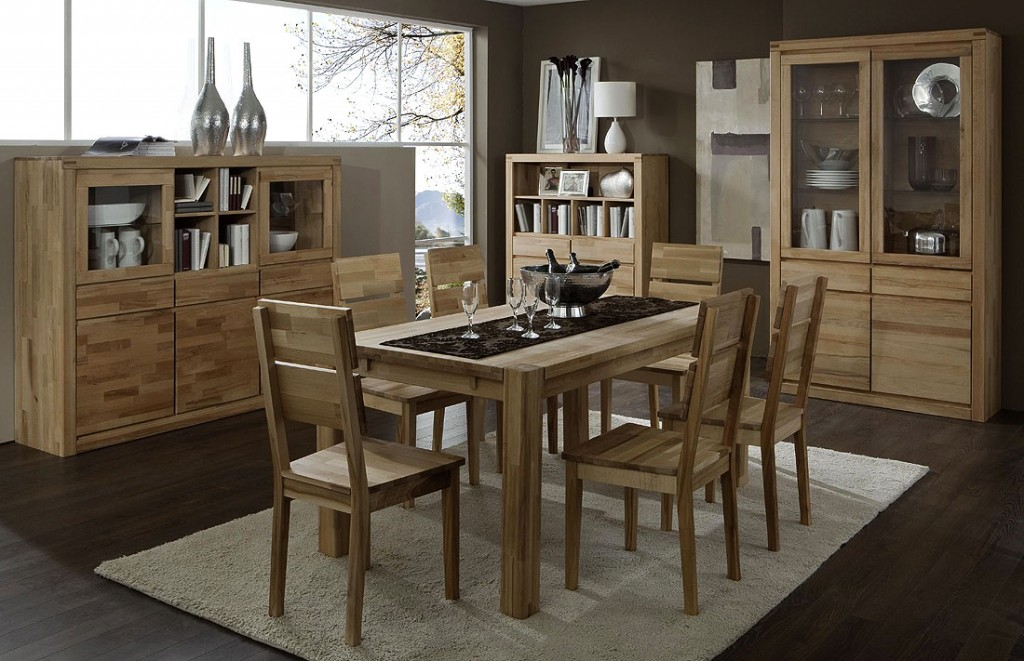 esszimmer kernbuche massiv geolt das beste aus. Black Bedroom Furniture Sets. Home Design Ideas