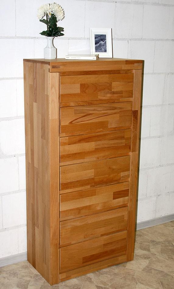 kommode kernbuche massiv preisvergleiche. Black Bedroom Furniture Sets. Home Design Ideas