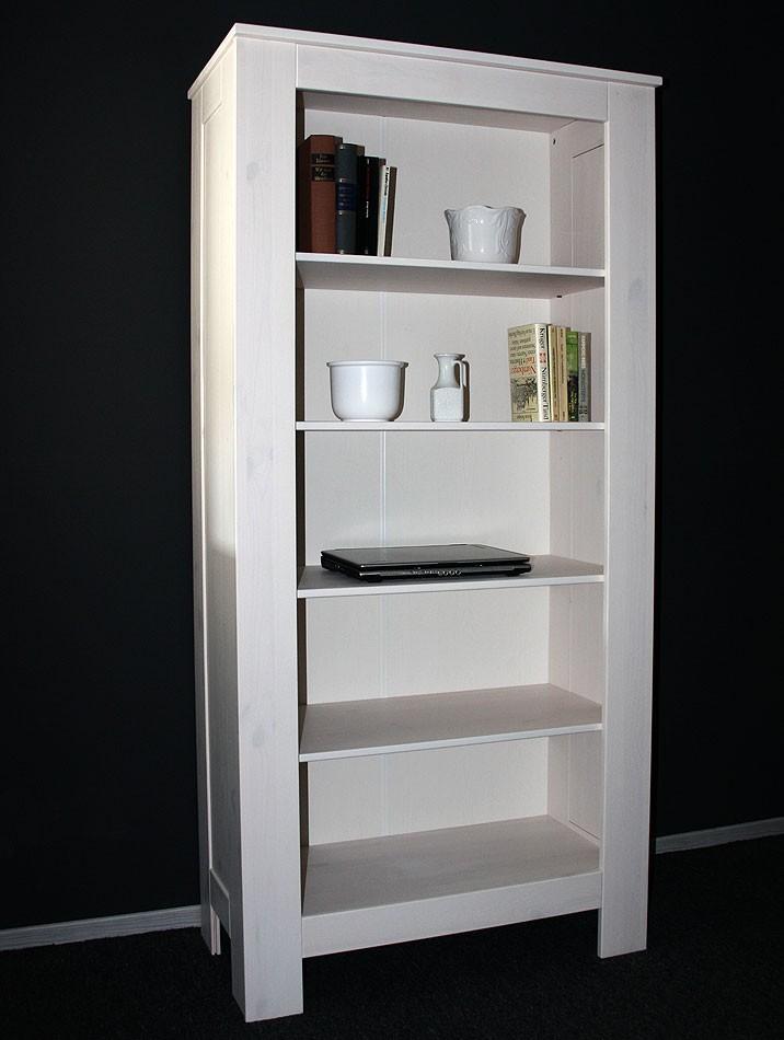 regal wei holz artownit for. Black Bedroom Furniture Sets. Home Design Ideas