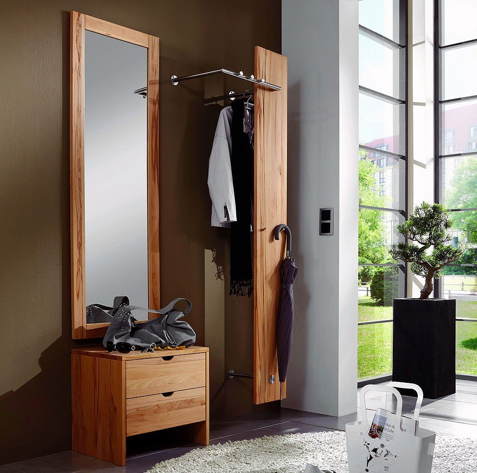 garderobe holz massiv garderobe lara massivholz firenze. Black Bedroom Furniture Sets. Home Design Ideas