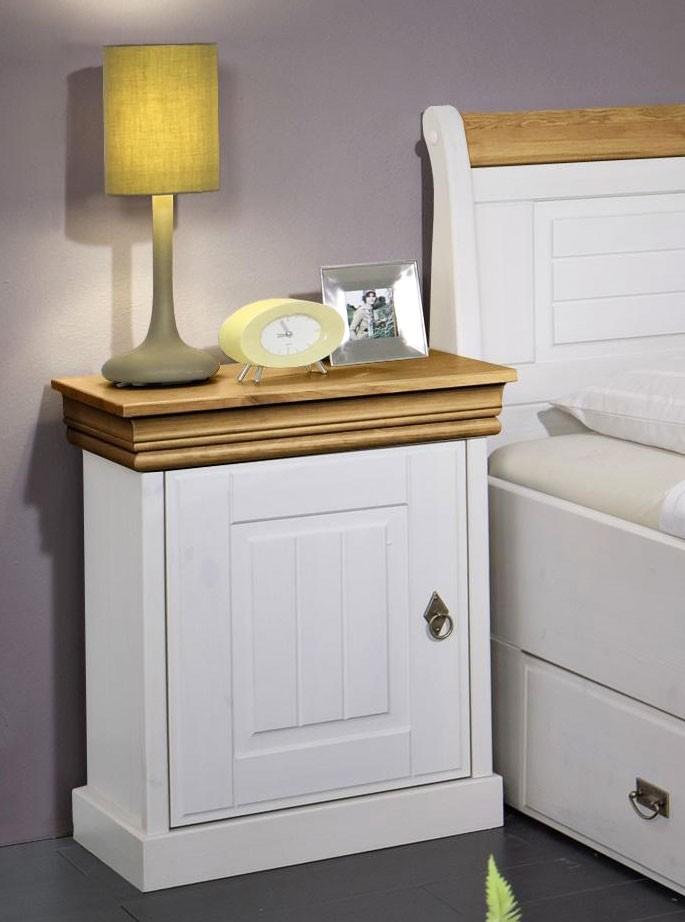 massivholz bett 140x200 holzbett mit bettkasten kiefer. Black Bedroom Furniture Sets. Home Design Ideas