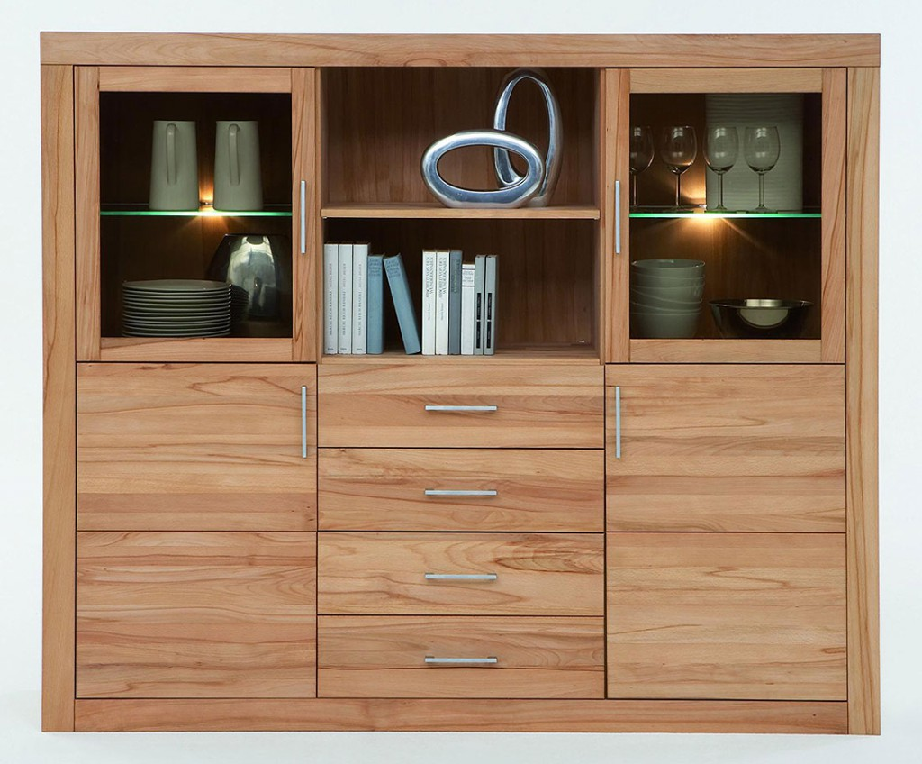 highboard massivholz kernbuche preisvergleiche. Black Bedroom Furniture Sets. Home Design Ideas