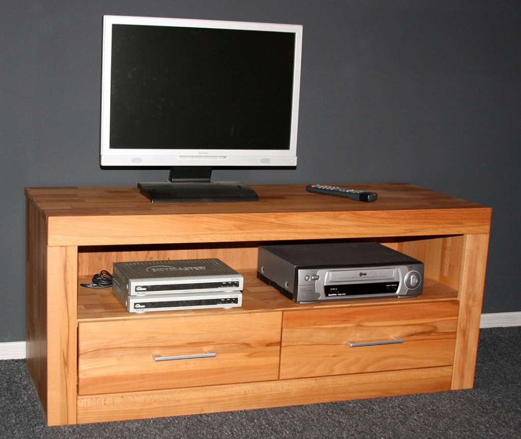 tv lowboard buche nachbildung. Black Bedroom Furniture Sets. Home Design Ideas