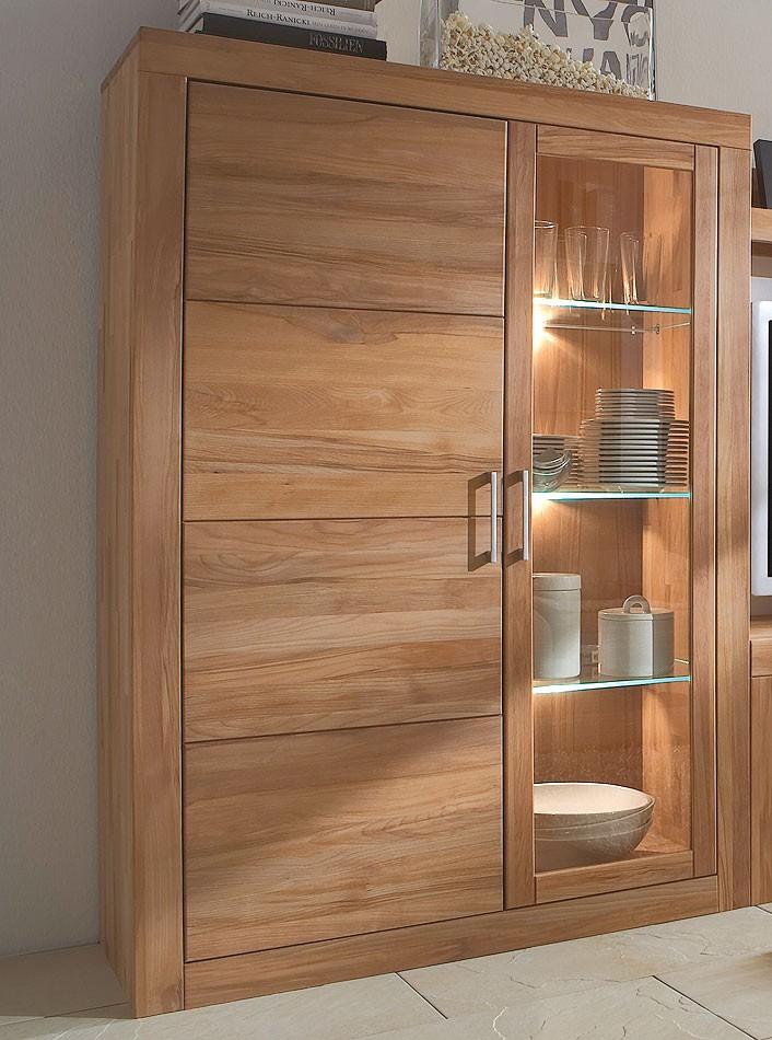 vitrine kernbuche massiv preisvergleiche erfahrungsberichte und kauf bei nextag. Black Bedroom Furniture Sets. Home Design Ideas