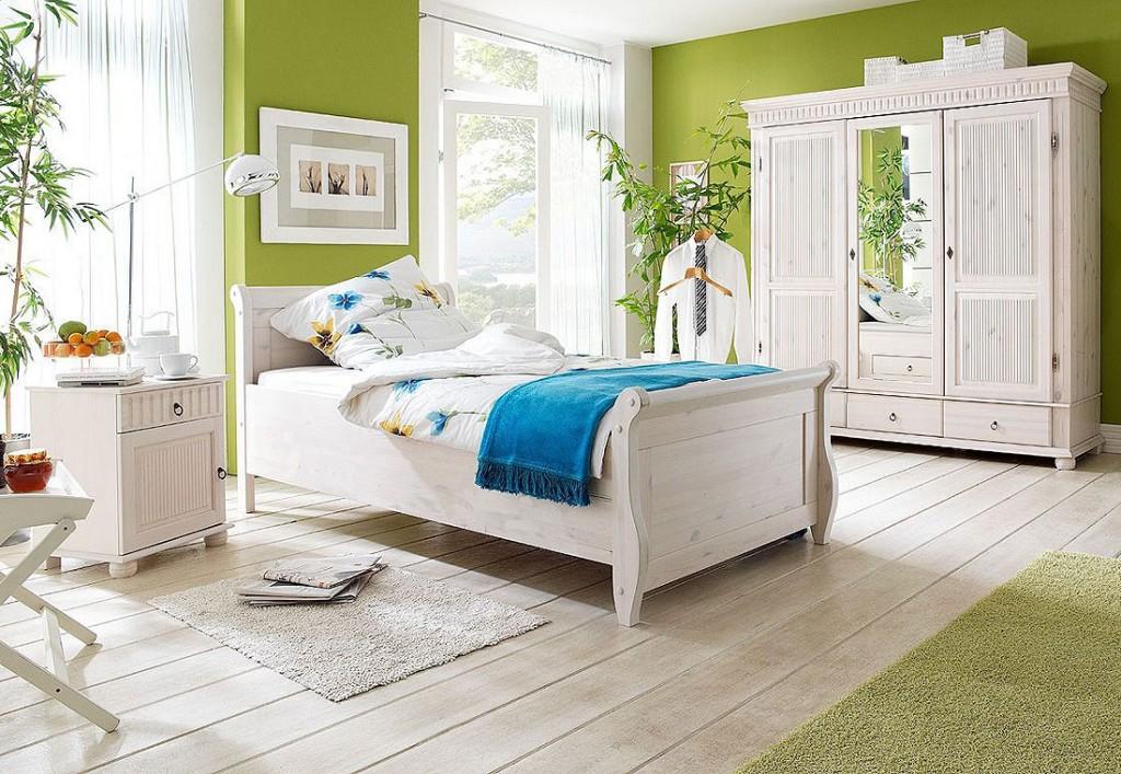 einzelbett 100x200 wei holzbett kiefer massiv poarta. Black Bedroom Furniture Sets. Home Design Ideas