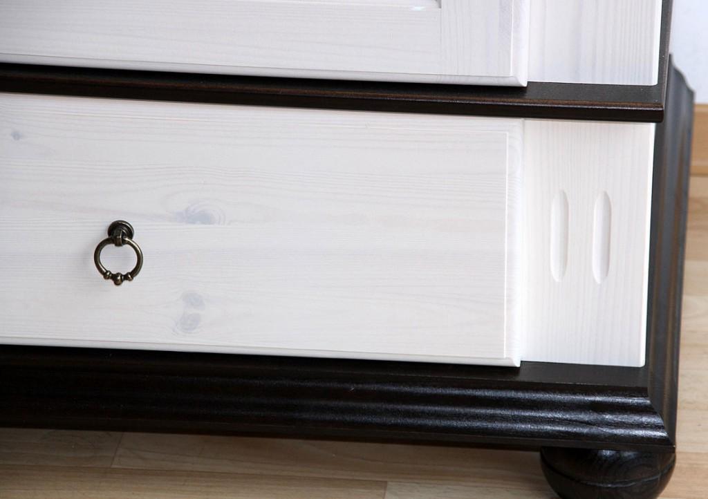 kleiderschrank 4 t rig xl wei kolonial kiefer massiv poarta. Black Bedroom Furniture Sets. Home Design Ideas