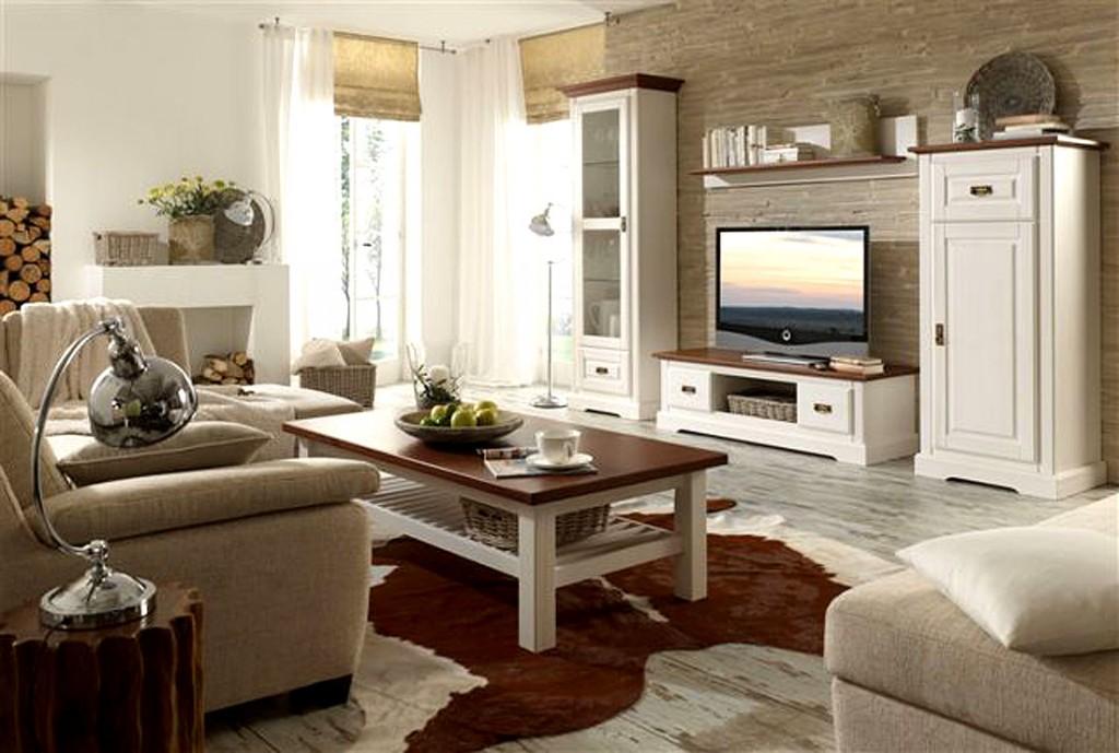 wohnzimmer im landhausstil gestalten – 55 gemütliche ideen, Innenarchitektur ideen