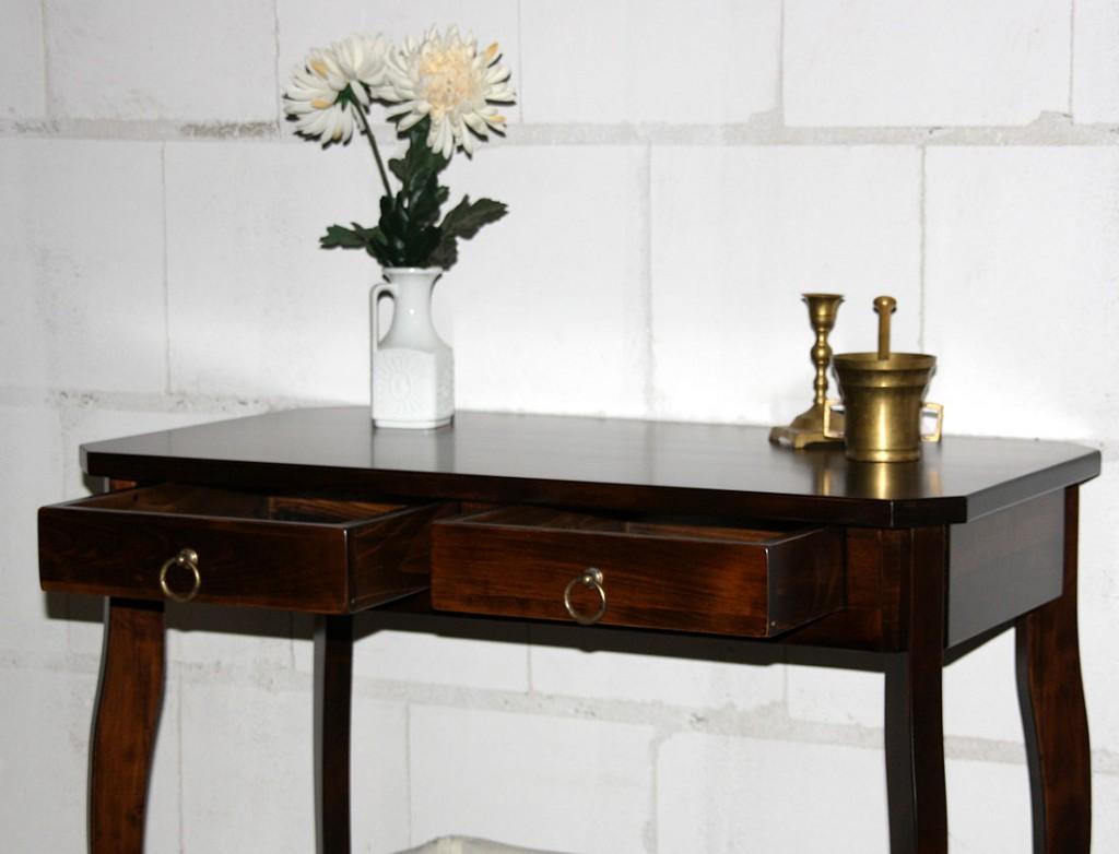 Massivholz wandtisch telefontisch konsolentisch holz for Wandtisch holz