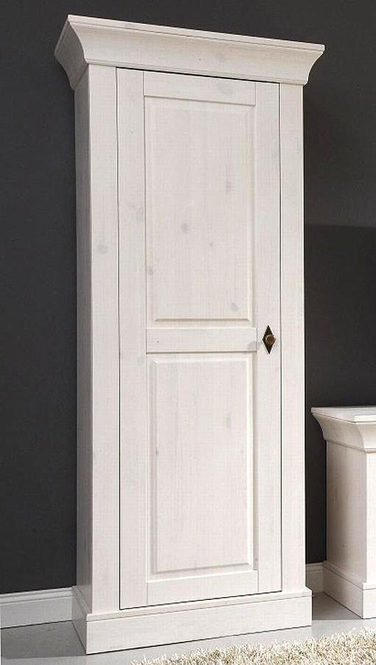 massivholz vitrine vitrinenschrank schrank bergen kiefer massiv wei. Black Bedroom Furniture Sets. Home Design Ideas
