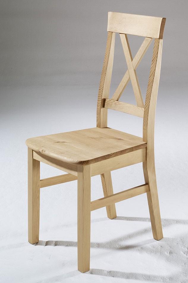 Massivholz Stuhl Holzstuhl Küchenstuhl Kiefer massiv
