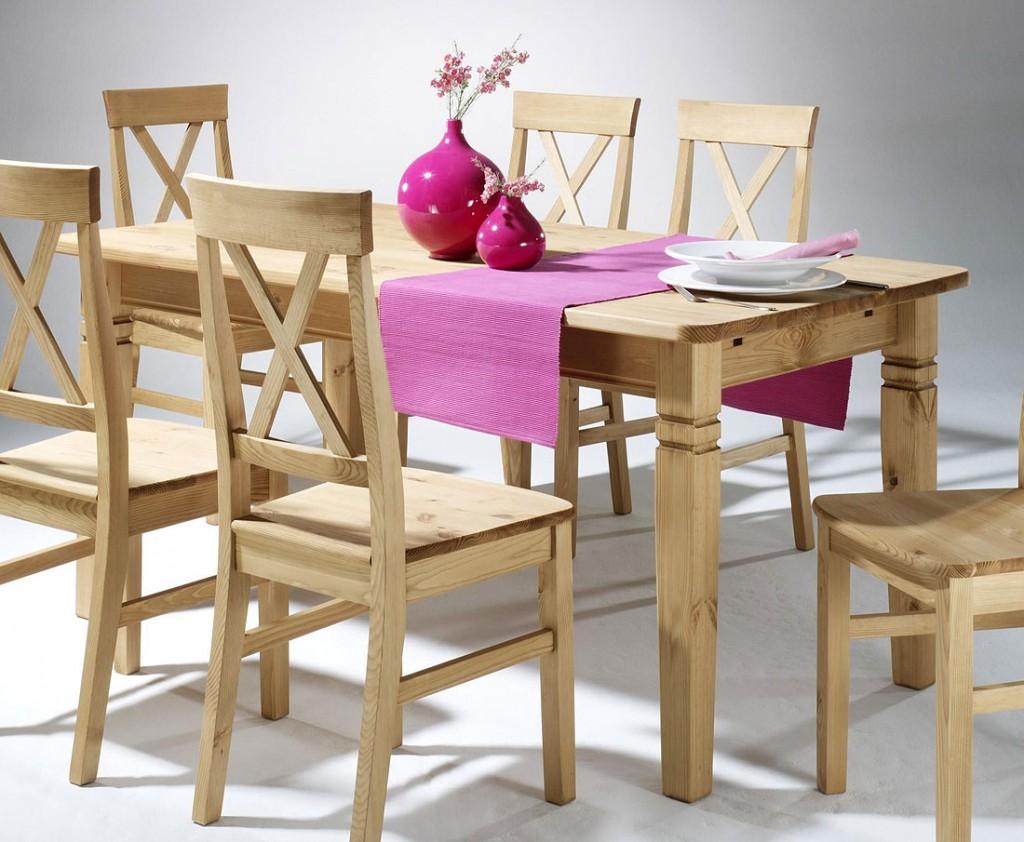 ... Esstisch 180cm Tisch Küchentisch Kiefer massiv gelaugt geölt