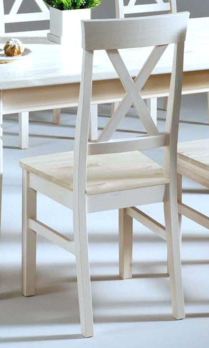 massivholz stuhl holzstuhl k chenstuhl kiefer massiv wei. Black Bedroom Furniture Sets. Home Design Ideas