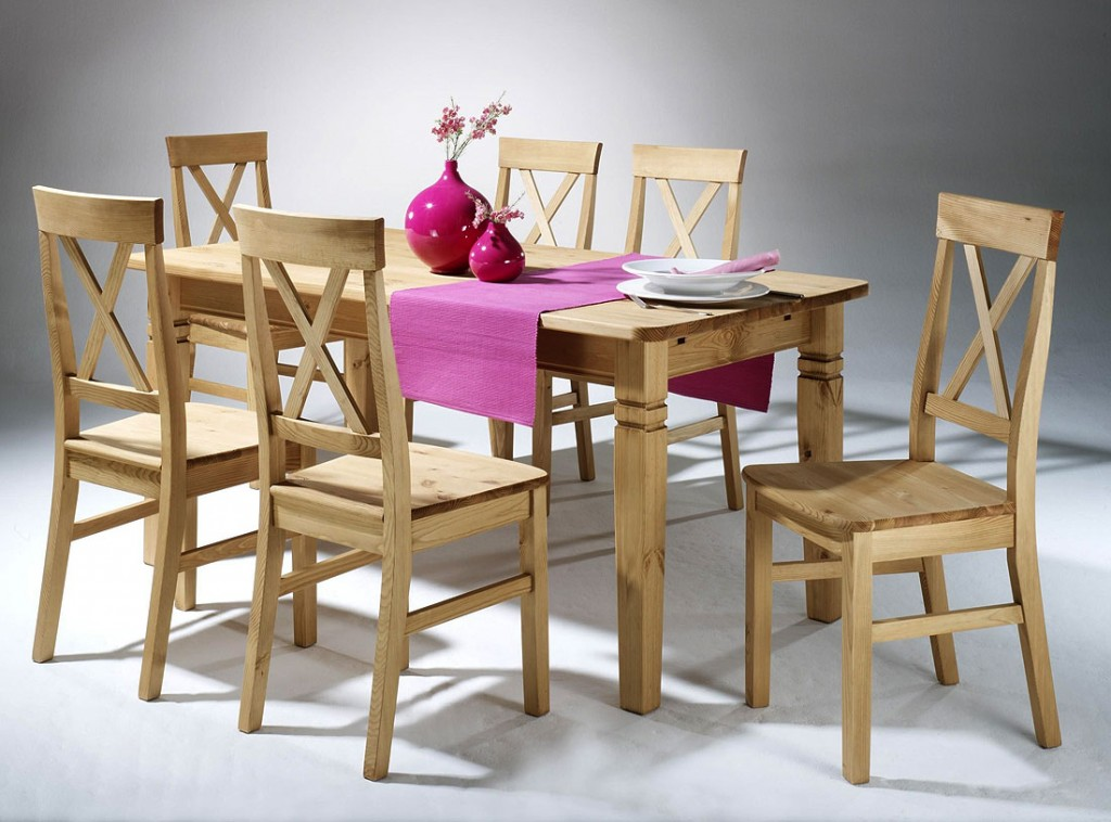 massivholz essgruppe tischgruppe sitzgruppe kiefer massiv wei gelaugt. Black Bedroom Furniture Sets. Home Design Ideas