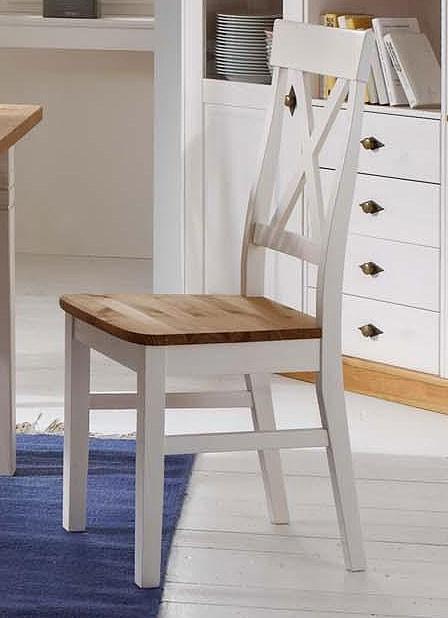 st hle wei holz landhaus neuesten design. Black Bedroom Furniture Sets. Home Design Ideas