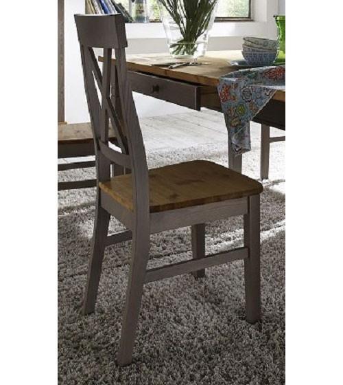 massivholz stuhl holzstuhl st hle k chenstuhl kiefer massiv grau gelaugt. Black Bedroom Furniture Sets. Home Design Ideas