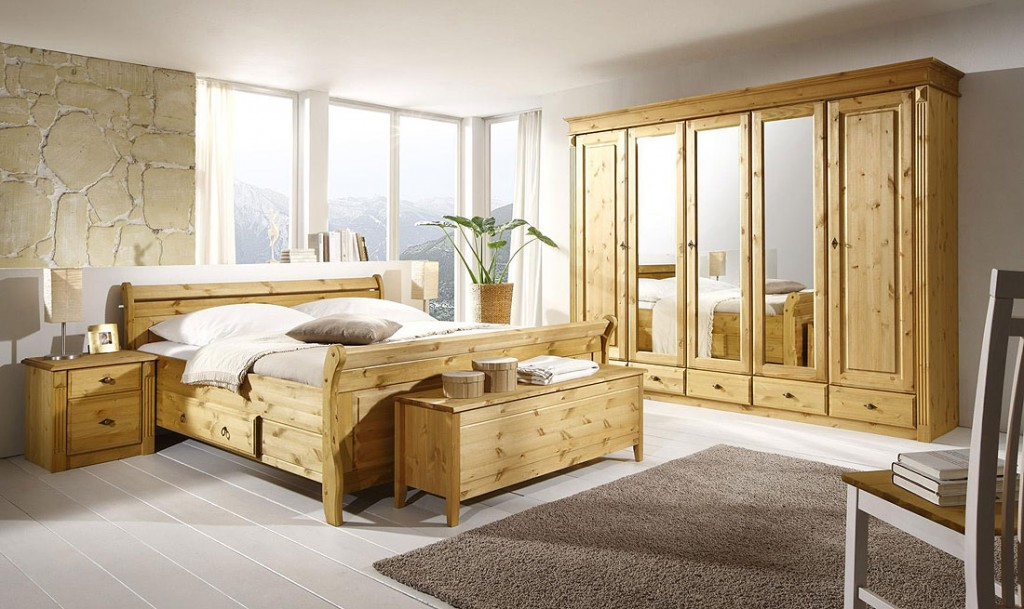 Schlafzimmer Komplett Massivholz : Schlafzimmer Komplett Landhausstil »–› PreisSuchmaschinede