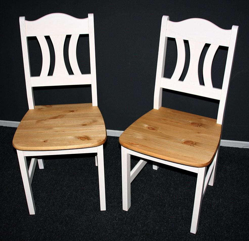 massivholz stuhle st hle k chenstuhl holzstuhl kiefer massiv wei gelaugt. Black Bedroom Furniture Sets. Home Design Ideas
