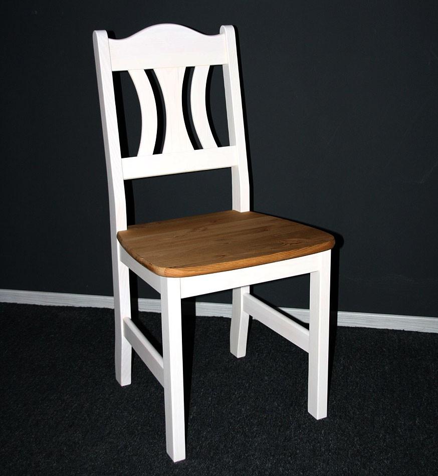 Massivholz stuhle stuhle kuchenstuhl holzstuhl kiefer for Küchenstuhl wei holz
