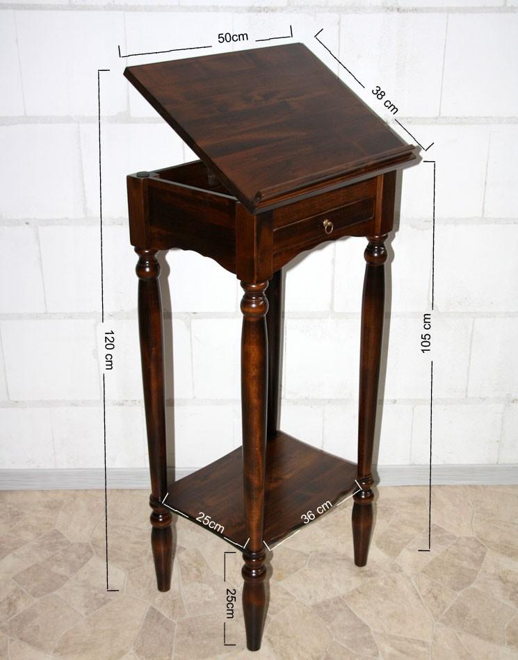 massivholz stehpult rednerpult notenst nder lesepult. Black Bedroom Furniture Sets. Home Design Ideas