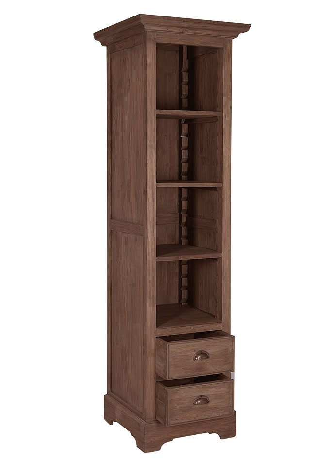 massivholz ordnerregal aktenregal regal teak holz unbehandelt. Black Bedroom Furniture Sets. Home Design Ideas