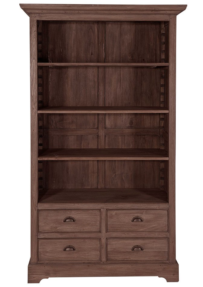 massivholz aktenregal ordnerregal b cherschrank teak. Black Bedroom Furniture Sets. Home Design Ideas