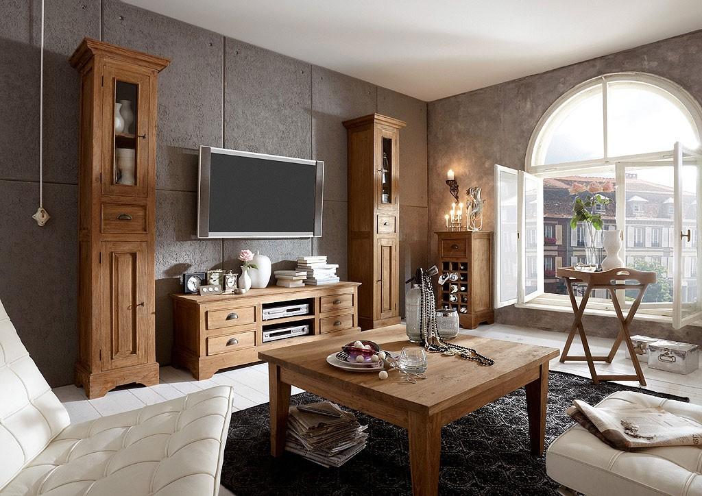 Pin Wohnzimmer Komplett Landhausstil Pineta Günstig Online Kaufen on ...