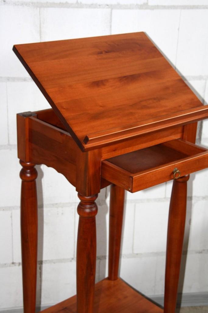 massivholz stehpult rednerpult notenst nder lesepult massiv kirsch. Black Bedroom Furniture Sets. Home Design Ideas