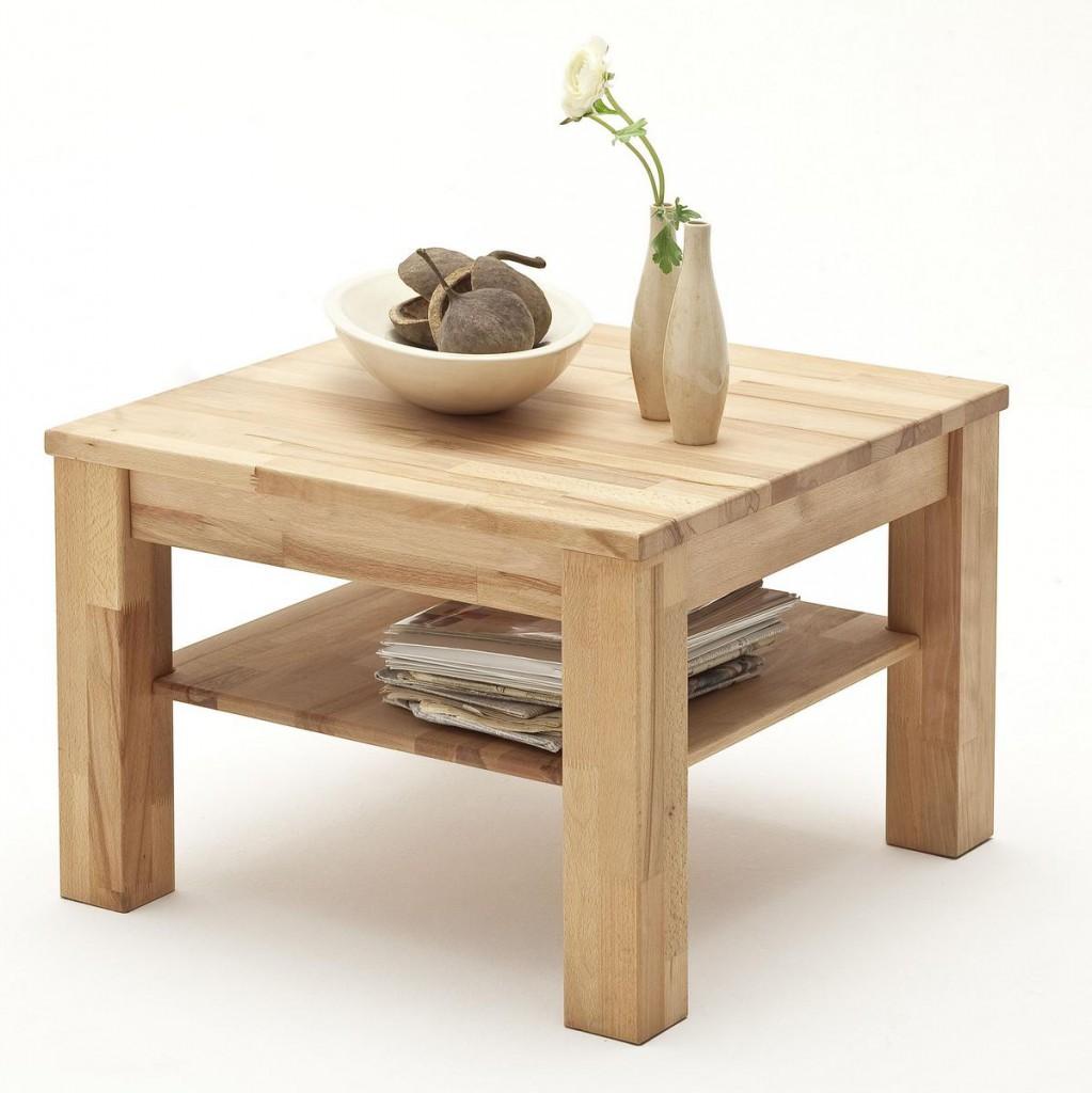 massivholz couchtisch beistelltisch 65x65cm kernbuche. Black Bedroom Furniture Sets. Home Design Ideas
