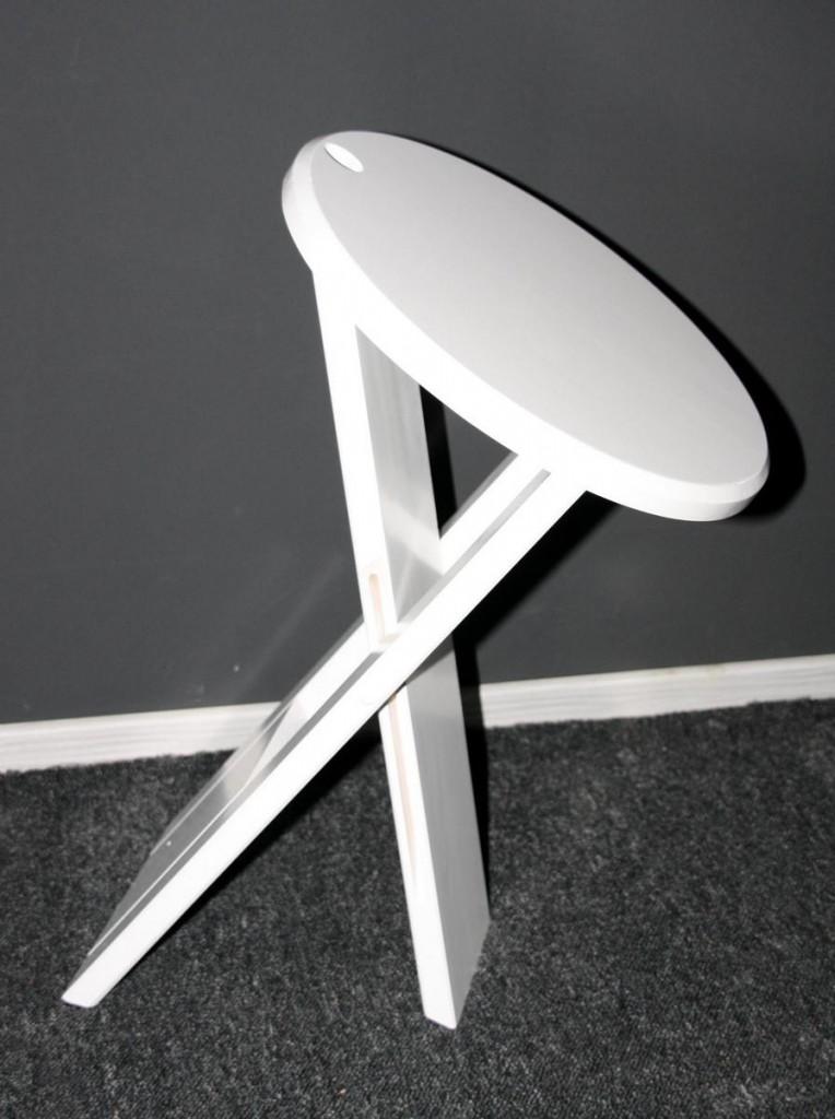 massivholz hocker klapphocker blumenhocker nachttisch beistelltisch wei. Black Bedroom Furniture Sets. Home Design Ideas