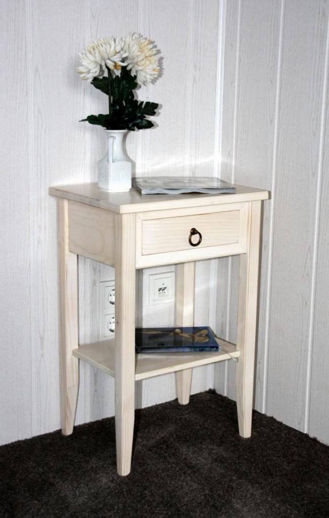 nachttisch holz vintage affordable nachttisch tisch wei holz vintage modisch landhaus in. Black Bedroom Furniture Sets. Home Design Ideas