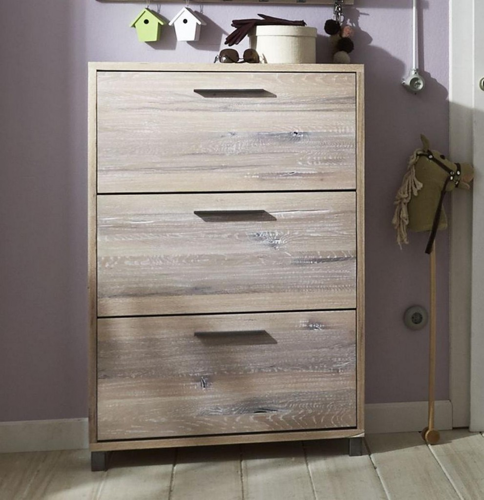 schuhschrank balkeneiche white wash schuhkommode eiche. Black Bedroom Furniture Sets. Home Design Ideas