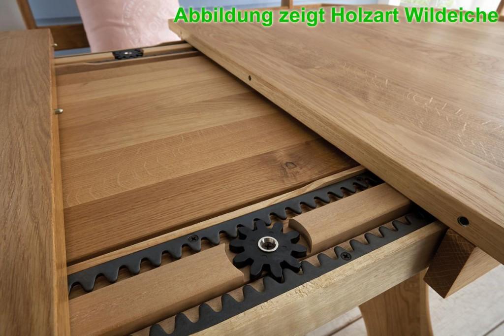 Ausziehtisch 130x84 kernbuche ge lt esstisch holz buche massiv for Ausziehtisch holz